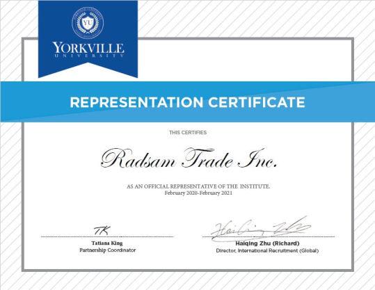 دانشگاه یورک ویل کانادا و مزایای اخذ پذیرش تحصیلی آن توسط رادسام