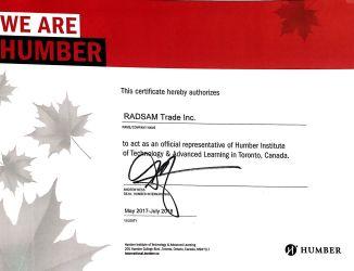 تحصیل در کالج های کانادا با شرکت کانادا رادسام نماینده رسمی معتبرترین کالج های کانادا هامبر و شریدان